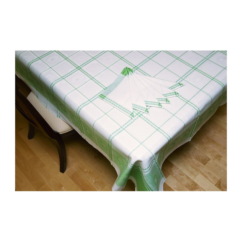 Nappe de table textile bachene for Set de table matelasse